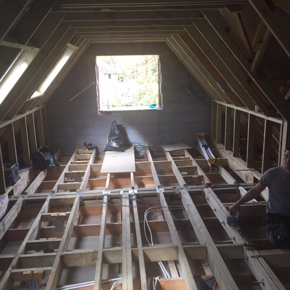 the lighting loft. Our Carpenter Created A Made To Measure Wardrobe And The Velux Skylights, Spotlights LED Lighting Worked Well Transform Area Into Light Loft